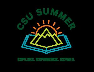 Visual representation of CSU Summer Brand Logo