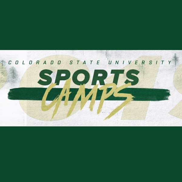 Graphic image of summer CSU RAMS Sport Camps logo