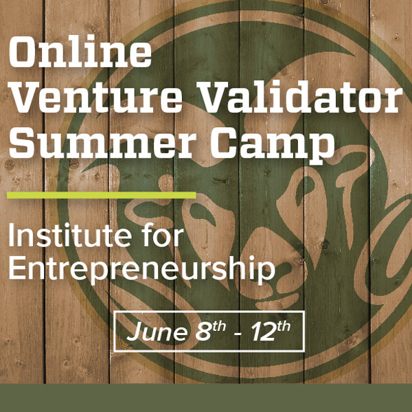 CSU Venture Validator Institute for Entrepreneurship