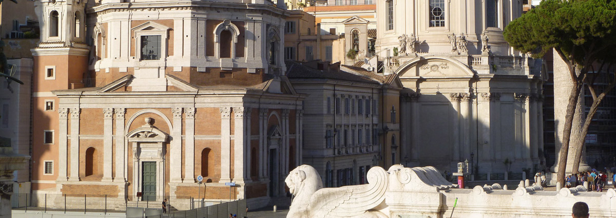SPCM-communication in Rome-image of Church of Saint Mary of Loreto
